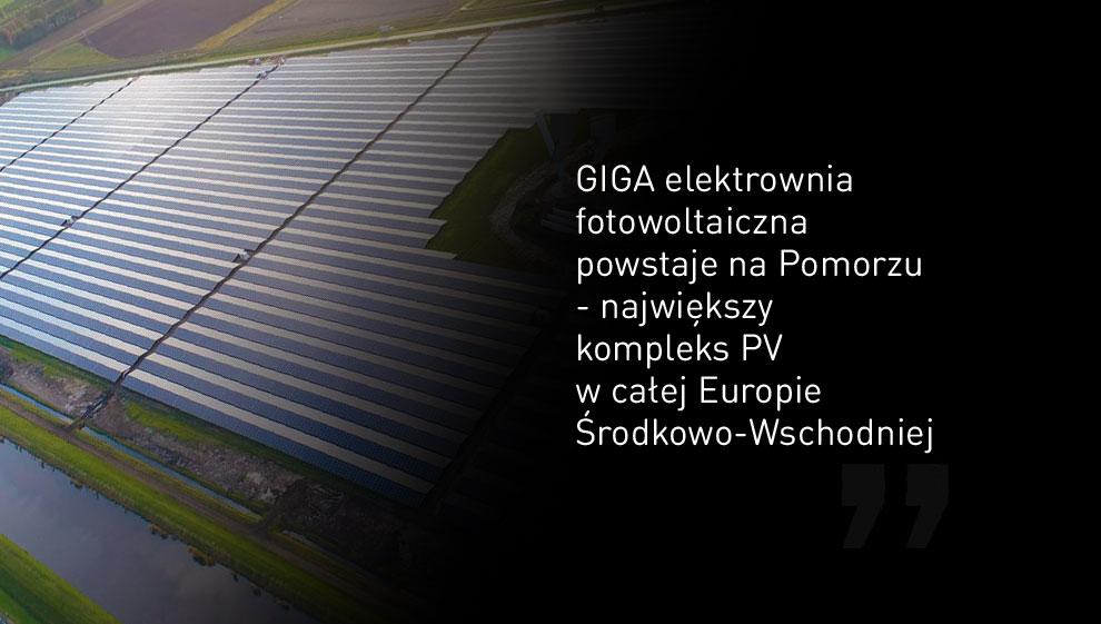 Zbudujemy giga elektrownię fotowoltaiczną na Pomorzu!